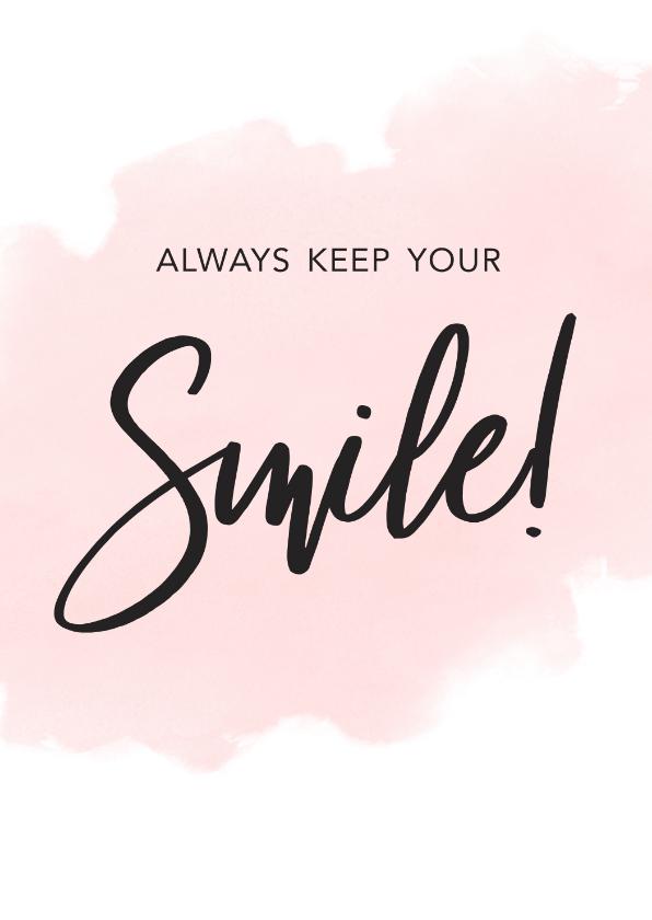 Zomaar kaarten - Make-A-Wish zomaar kaart always keep your smile