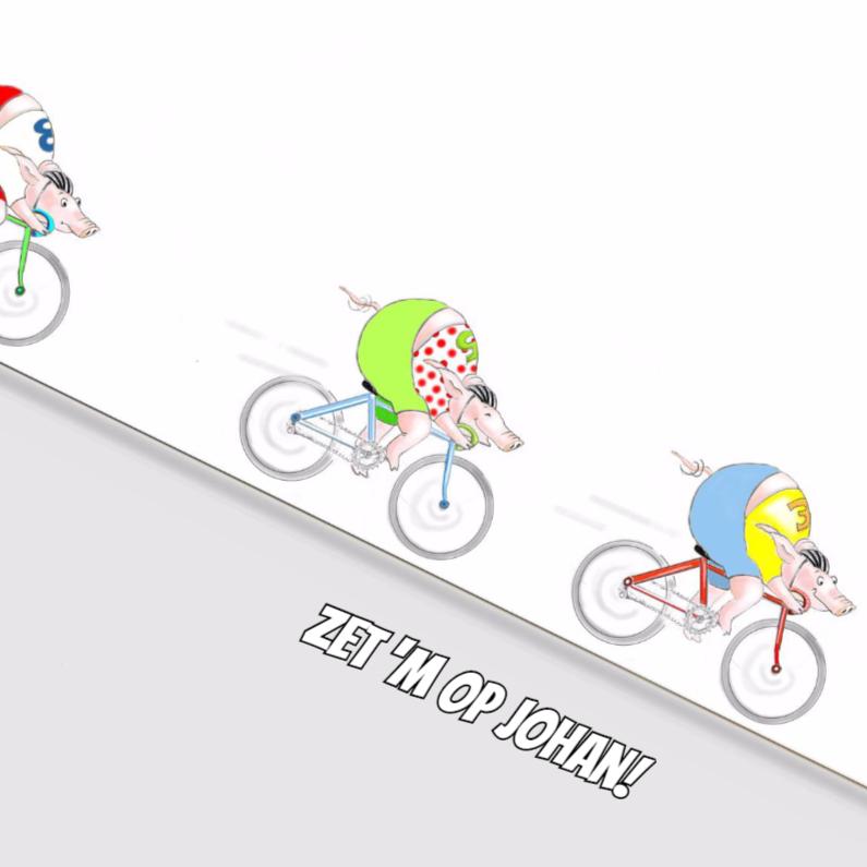 Zomaar kaarten - Op de racefiets