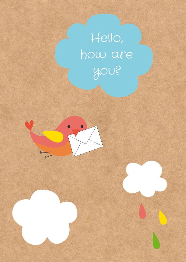 Zomaar kaarten - Sterktekaart- Brief van Vogel-HK