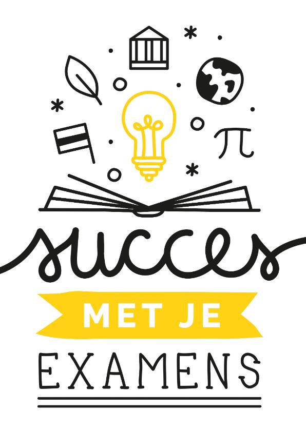 Zomaar kaarten - Succes examens illustraties
