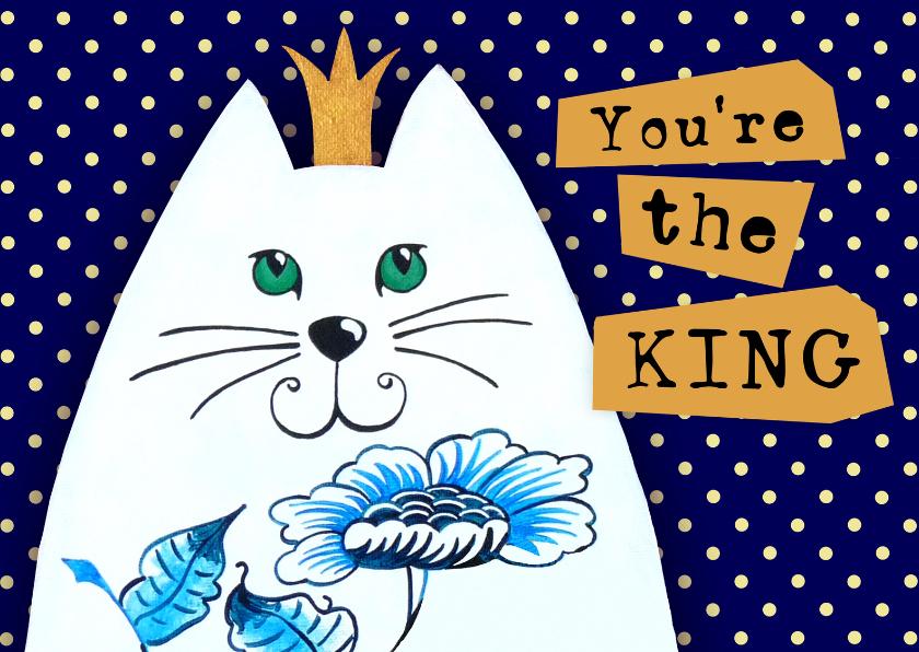 Zomaar kaarten - Succes kaart You're the KING