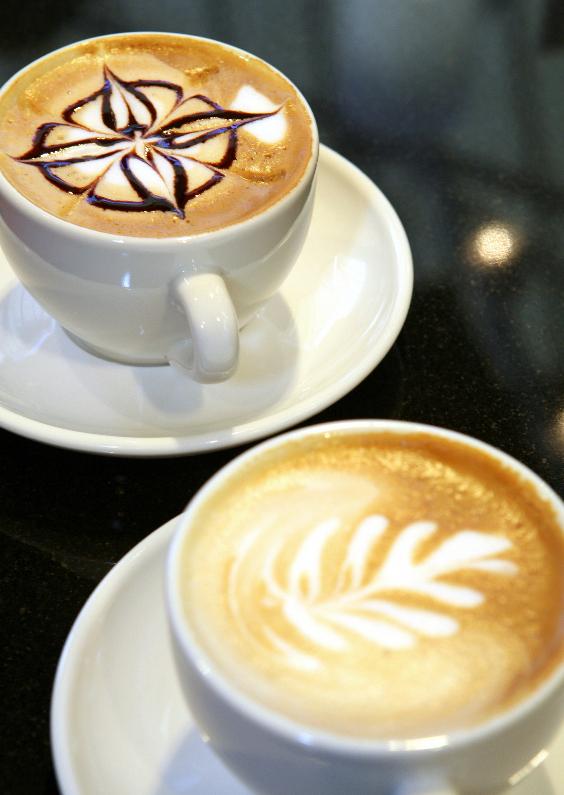 Zomaar kaarten - Twee kopjes koffie - Cappuccino