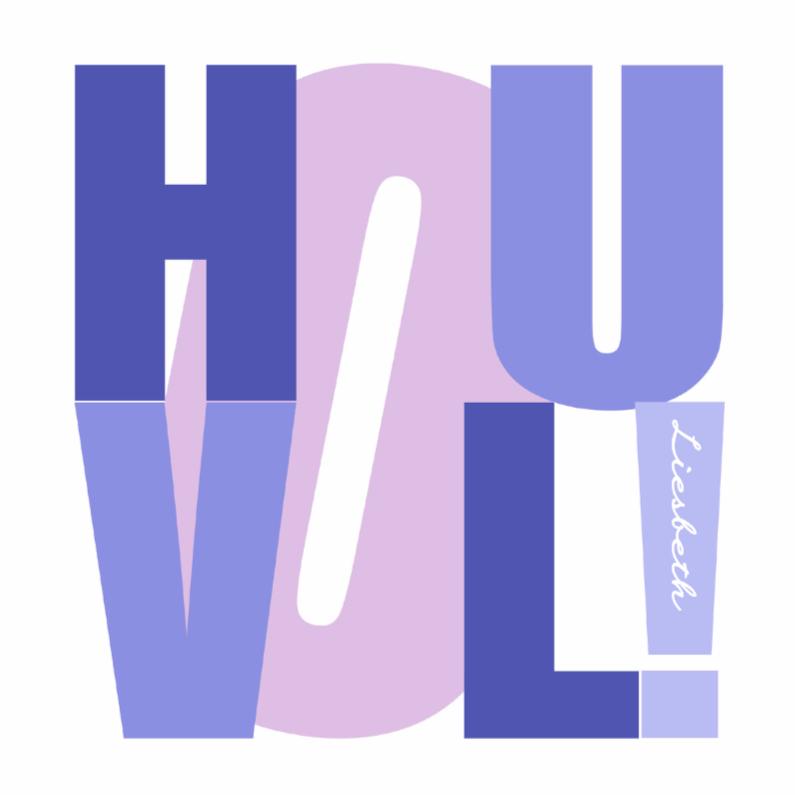 Zomaar kaarten - Woorden Hou Vol! - BK