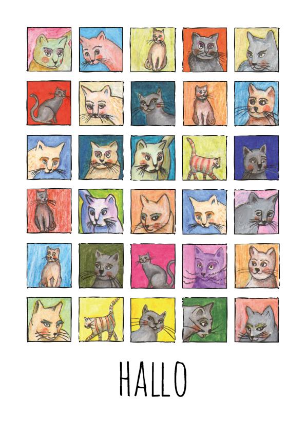 Zomaar kaarten - zomaar-een groot hallo-kk