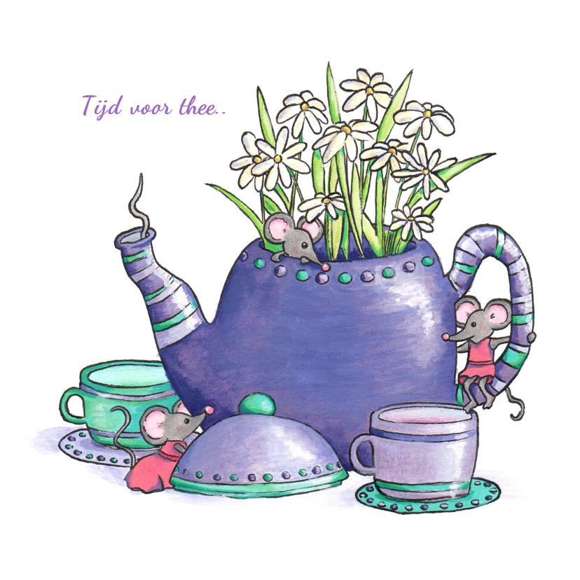 Zomaar kaarten - Zomaar een kopje thee drinken