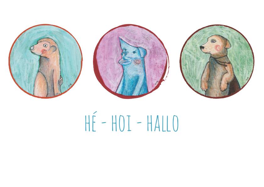 Zomaar kaarten - zomaar-he hoi hallo-kk