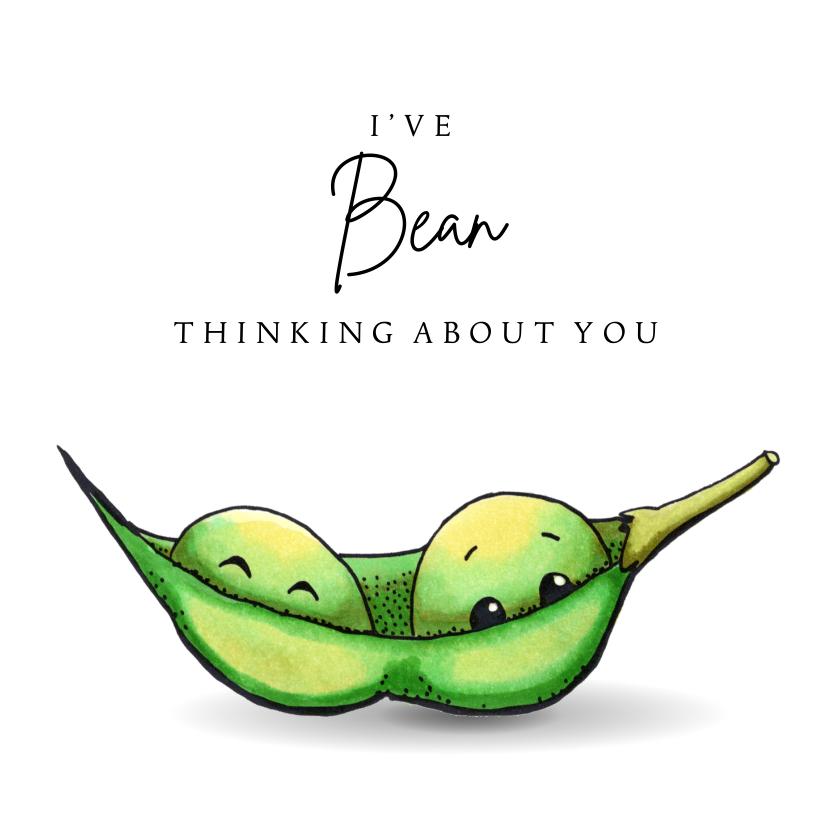 Zomaar kaarten - Zomaar kaart I've bean thinking about you