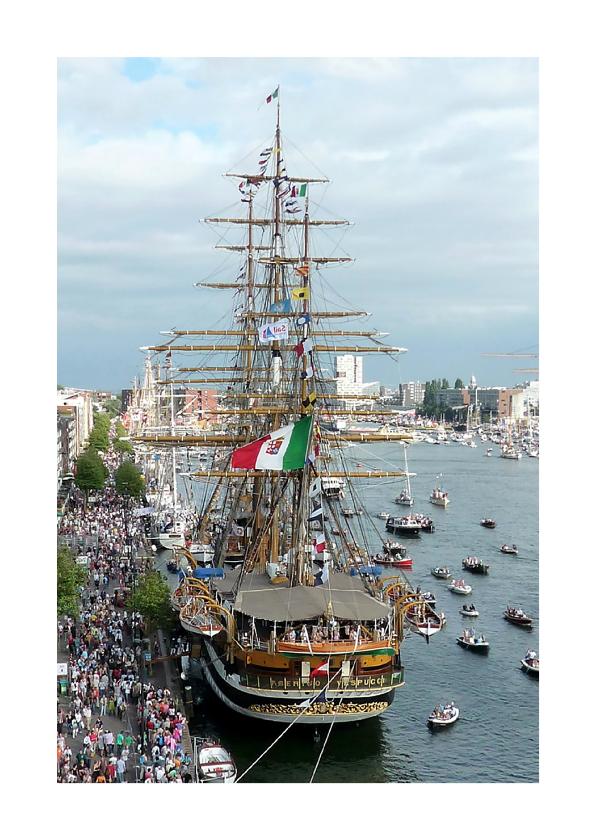 Zomaar kaarten - Zomaar kaart Sail Amerigo Vespucci