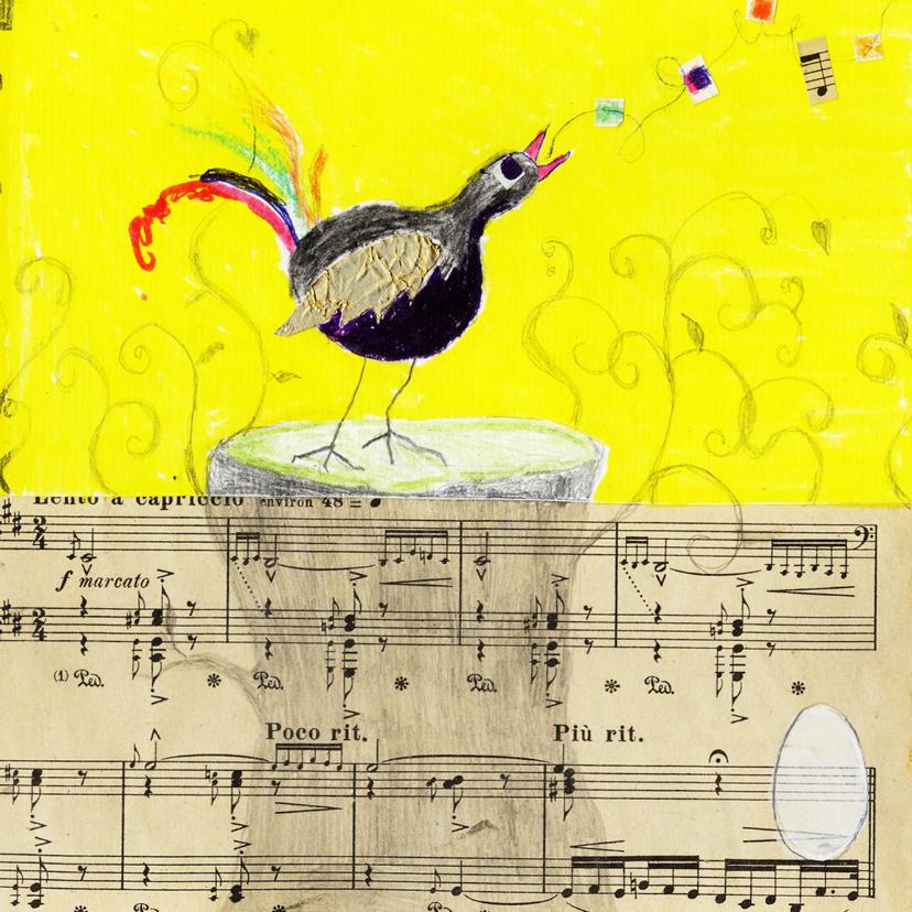 Zomaar kaarten - Zomaar kaart vogel en ei