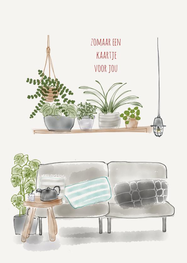 Zomaar kaarten - Zomaar kaartje Planten