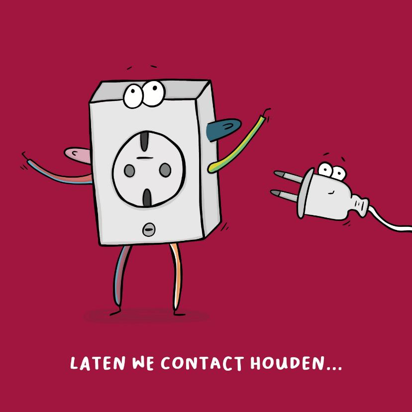 Zomaar kaarten - Zomaar laten we contact houden...