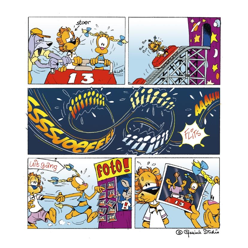 Zomaar kaarten - Zomaar Loeki in de achtbaan - A