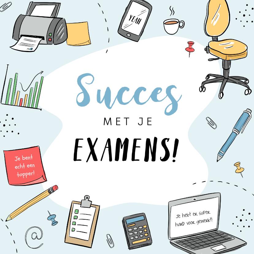 Zomaar kaarten - Zomaar succes examens school studeren leren tentamens